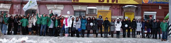 В Саратове прошел тренировочный сбор 100 активистов Федерального молодежного проекта «Все Дома», объединяющего более тысячи неравнодушных и активных молодых людей из 20 регионов страны, готовых работать над улучшением окружающего пространства.
