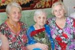 Жительница Заводского района Саратова Мария Петровна Шеина отметила 100-летний юбилей