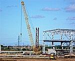 Начался монтаж сталеплавильного цеха на стройплощадке «Северстали» в Саратовской области