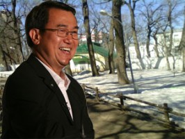 Саратов по дороге на всемирную выставку China Clean Expo-2013 посетил основатель ВТО Джек Сим