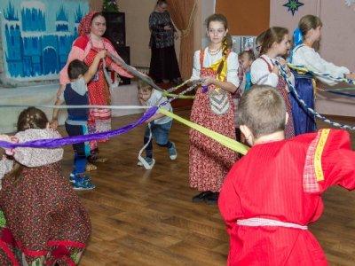 Фольклорный праздник «Колядки» состоялся в Центре дополнительного образования